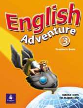 English Adventure Level 3 Teacher's Book (книга вчителя) - фото обкладинки книги