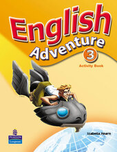 English Adventure Level 3 Workbook - фото обкладинки книги