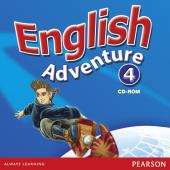 English Adventure Level 4 CD-ROM (аудіодиск) - фото обкладинки книги