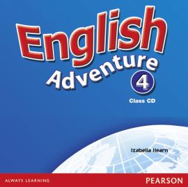 English Adventure Level 4 Class CD (аудіодиск) - фото книги