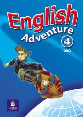English Adventure Level 4 DVD (відеодиск) - фото обкладинки книги