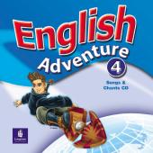 English Adventure Level 4 Songs CD (аудіодиск) - фото обкладинки книги