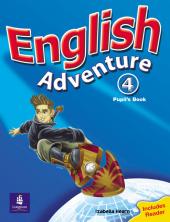 English Adventure Level 4 Student's Book (підручник) - фото обкладинки книги