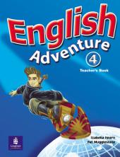English Adventure Level 4 Teacher's Book (книга вчителя) - фото обкладинки книги