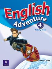 English Adventure Level 4 Workbook - фото обкладинки книги