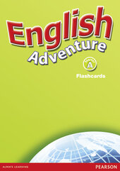 English Adventure Starter A Flashcards (навчальні картки) - фото обкладинки книги