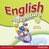 English Adventure Starter A Songs CD (аудіодиск) - фото обкладинки книги