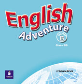 English Adventure Starter B Class CD (аудіодиск) - фото обкладинки книги