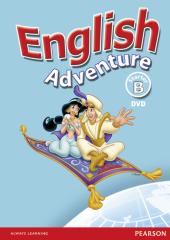 English Adventure Starter B DVD (відеодиск) - фото обкладинки книги
