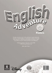 English Adventure Starter B Posters (плакати) - фото обкладинки книги