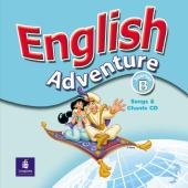 English Adventure Starter B Songs CD (аудіодиск) - фото обкладинки книги