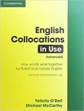 English Collocations in Use: Advanced - фото обкладинки книги