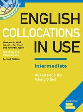 English Collocations in Use Intermediate Book with Answers : How Words Work Together for Fluent and Natural English - фото обкладинки книги