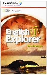 English Explorer 1: ExamView Assessment CD-Rom - фото обкладинки книги