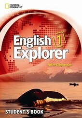 English Explorer 1: Explore, Learn, Develop SB with Multi-ROM - фото обкладинки книги
