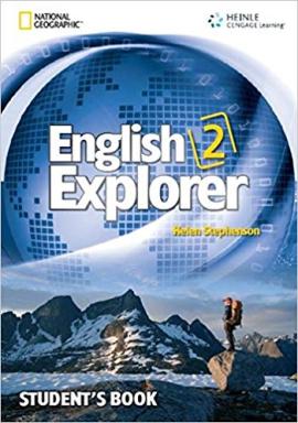 English Explorer 2 with SB + MultiROM - фото книги