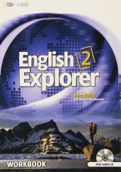English Explorer 2 Workbook - фото обкладинки книги