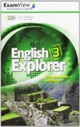 English Explorer 3 ExamView Assessment CD-Rom - фото обкладинки книги