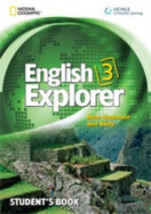 English Explorer 3 with SB + MultiROM - фото обкладинки книги