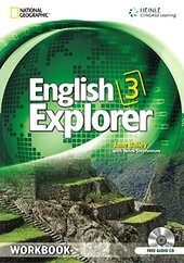 English Explorer 3 Workbook + CD - фото обкладинки книги