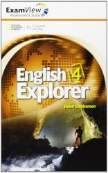 English Explorer 4. ExamView Assessment CD-Rom - фото обкладинки книги