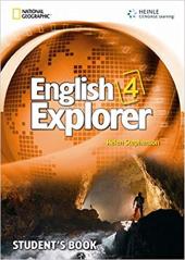 English Explorer 4 with SB + MultiROM - фото обкладинки книги