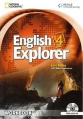 English Explorer 4 Workbook + CD - фото обкладинки книги