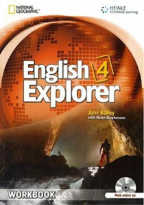 English Explorer 4 Workbook + CD - фото книги