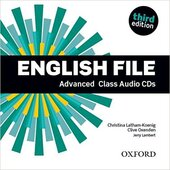 English File 3rd Edition Advanced: Class Audio CDs (аудіодиск) - фото обкладинки книги