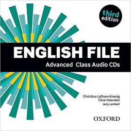 English File 3rd Edition Advanced: Class Audio CDs (аудіодиск) - фото книги
