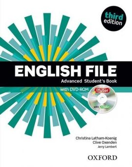 English File 3rd Edition Advanced: Student's Book with iTutor DVD (підручник + диск) - фото книги