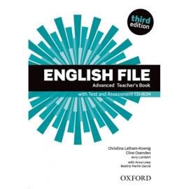 English File 3rd Edition Advanced: Teacher's Book with Test & Assessment CD (для вчителя) - фото книги