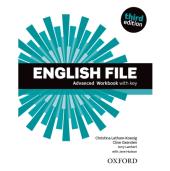 English File 3rd Edition Advanced: Workbook with Key - фото обкладинки книги