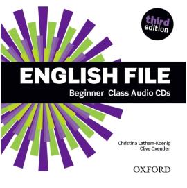 English File 3rd Edition Beginner: Class Audio CDs (аудіодиск) - фото книги