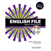 English File 3rd Edition Beginner: Student's Book with iTutor DVD (підручник + диск) - фото обкладинки книги
