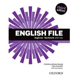 English File 3rd Edition Beginner: Workbook with Key - фото книги