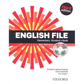 English File 3rd Edition Elementary: Student's Book with iTutor DVD (підручник+диск) - фото книги