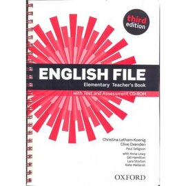 "English File 3rd Edition Elementary:Teacher's Book with Test & Assessment CD"" - фото книги"