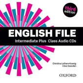 English File 3rd Edition Intermediate Plus: Class Audio CDs (5) - фото обкладинки книги