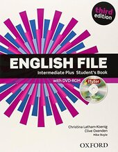 English File 3rd Edition Intermediate Plus: Student's Book with iTutor DVD - фото обкладинки книги