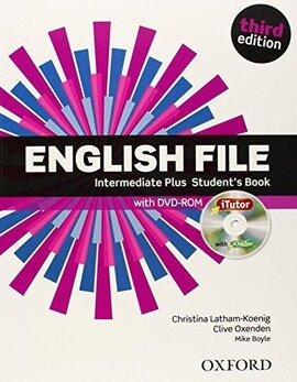 English File 3rd Edition Intermediate Plus: Student's Book with iTutor DVD - фото книги