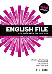 English File 3rd Edition Intermediate Plus: Teacher's Book with Test & Assessment CD-ROM - фото обкладинки книги