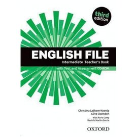 """English File 3rd Edition Intermediate:Teacher's Book with Test & Assessment CD"""" - фото книги"""