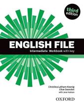 English File 3rd Edition Intermediate: Workbook with Key - фото обкладинки книги