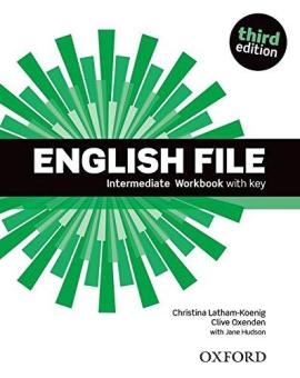 English File 3rd Edition Intermediate: Workbook with Key - фото книги