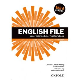 "English File 3rd Edition Upper-Intermediate:Teacher's Book with Test & Assessment CD"" - фото книги"