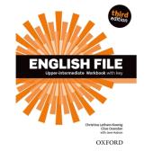 English File 3rd Edition Upper-Intermediate: Workbook with Key - фото обкладинки книги