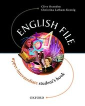 English File: Student's Book Upper-intermediate level - фото обкладинки книги