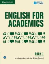 English for Academics: English for Academics 1 Book with Online Audio - фото обкладинки книги