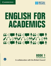 English for Academics: English for Academics 1 Book with Online Audio - фото обкладинки книги